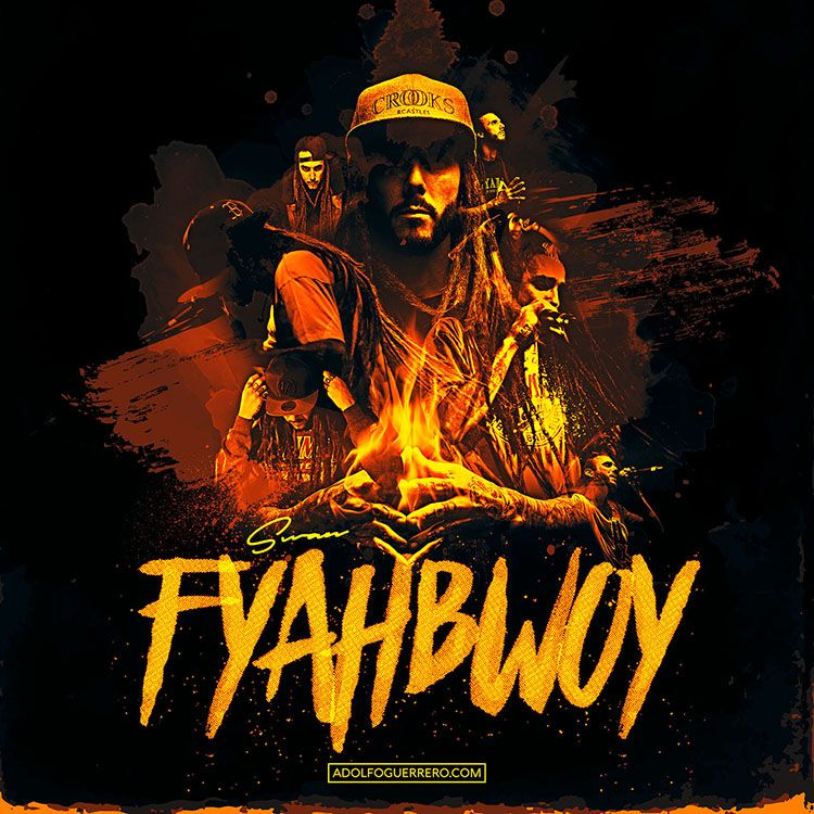 Fyahbwoy - Digital Illustration | Adolfo Guerrero
